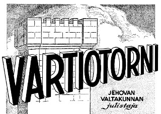 Johanneksen pojan kotisivut - Tietoa Vartiotorniseurasta ja ...