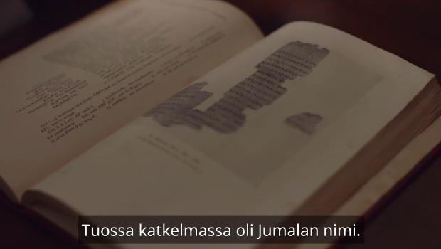 vuodelta Uusi testamentti käsi kirjoitukset